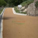 Strada in terra stabilizzata Parco Nazionale dell'Appennino Lucano (Tramutola -Pz)