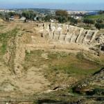 terra stabilizzata-anfiteatro romano di Scolacium