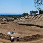 Parco archeologico scolacium in terra stabilizzata