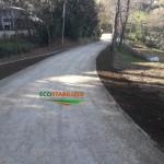 strada naturale in terra stabilizzata- ecological roads