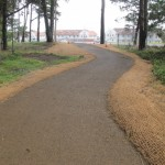 Strada in terra stabilizzata