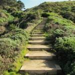 terra stabilizzata - percorsi ripidi-gradini