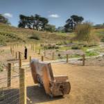 parco archeologico in terra stabilizzata