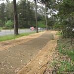 pista ciclabile in terra stabilizzata
