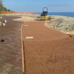 riprese di getto terra stabilizzata